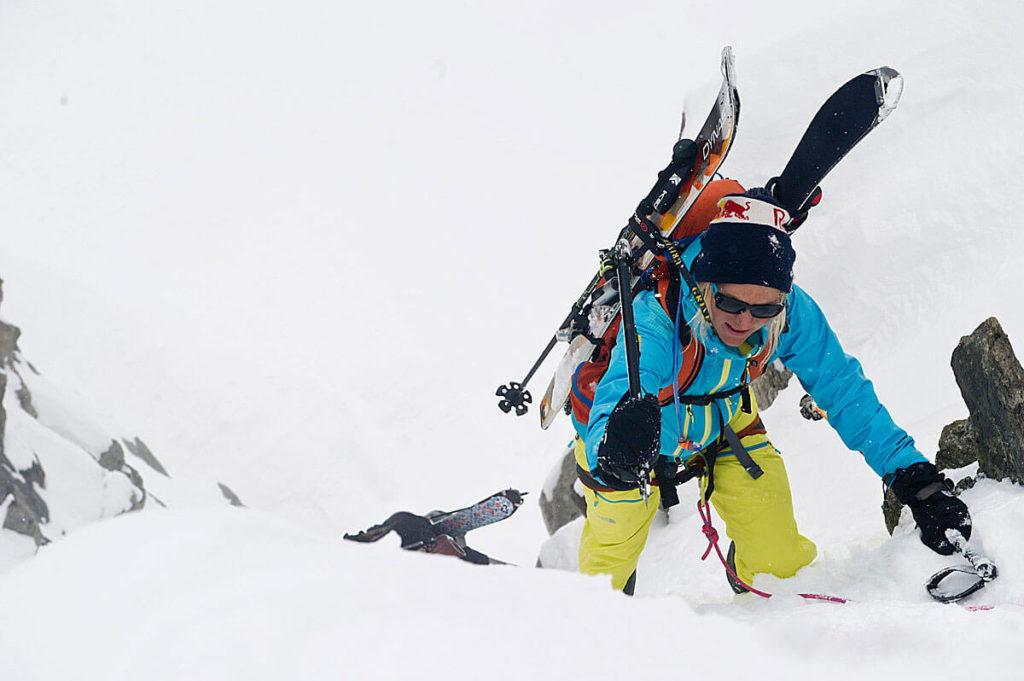 Karina-Hollekim-ski-climbing
